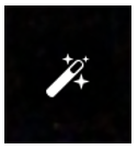 Facebook Live wand icon