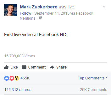 First ever Facebook Live video - San Francisco Bay Area Digital Marketing Agency - Zak & Zu Marketing