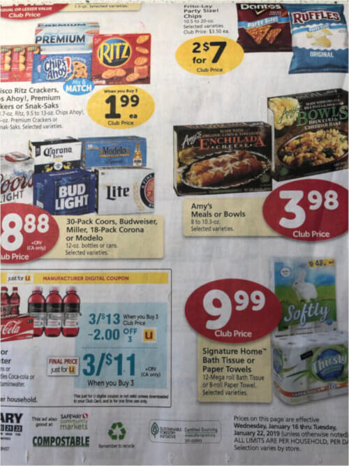Generic Grocery Store Ad