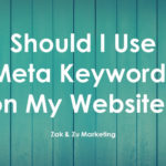 Should I Use Meta Keywords on My Website?