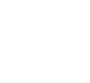 Zak & Zu Marketing White Logo